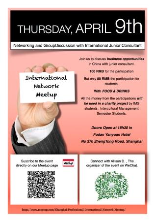 Flyer evènement Meetup.