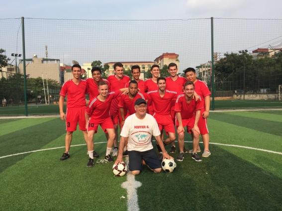 SMI Football Team