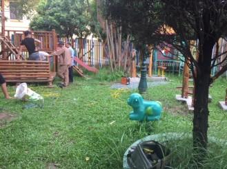 Playgroung renovation 3