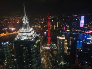 Vue du restaurant - Shanghai